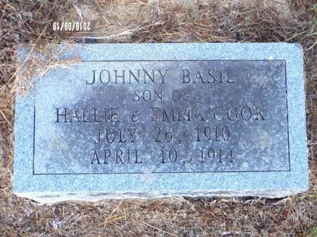 COOK, JOHNNY BASIL - Union County, Louisiana | JOHNNY BASIL COOK - Louisiana Gravestone Photos