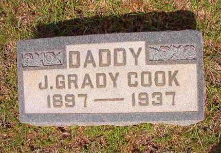 COOK, J GRADY - Union County, Louisiana | J GRADY COOK - Louisiana Gravestone Photos