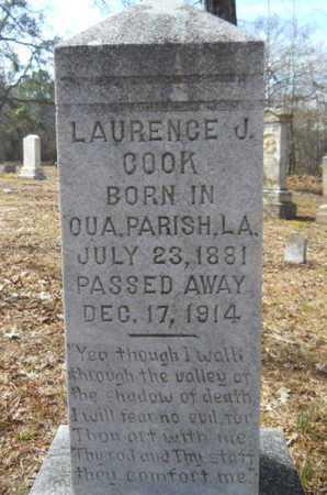 COOK, LAURENCE J - Union County, Louisiana | LAURENCE J COOK - Louisiana Gravestone Photos
