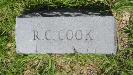 COOK, R CLAUDE - Union County, Louisiana | R CLAUDE COOK - Louisiana Gravestone Photos
