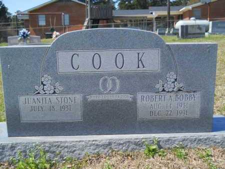 "COOK, ROBERT A ""BOBBY"" - Union County, Louisiana   ROBERT A ""BOBBY"" COOK - Louisiana Gravestone Photos"