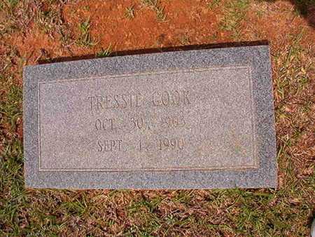 COOK, TRESSIE - Union County, Louisiana | TRESSIE COOK - Louisiana Gravestone Photos