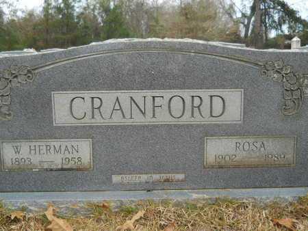MCADAMS CRANFORD, ROSA - Union County, Louisiana | ROSA MCADAMS CRANFORD - Louisiana Gravestone Photos
