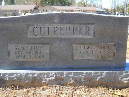 CULPEPPER, BRADY DIXON - Union County, Louisiana | BRADY DIXON CULPEPPER - Louisiana Gravestone Photos
