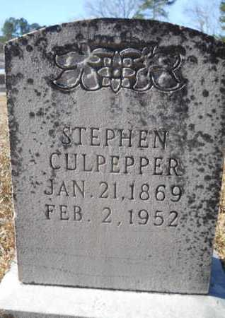 CULPEPPER, STEPHEN - Union County, Louisiana | STEPHEN CULPEPPER - Louisiana Gravestone Photos