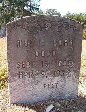 ROAN DODD, MOLLIE - Union County, Louisiana | MOLLIE ROAN DODD - Louisiana Gravestone Photos