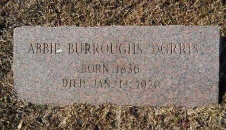 DORRIS, ABBIE - Union County, Louisiana | ABBIE DORRIS - Louisiana Gravestone Photos