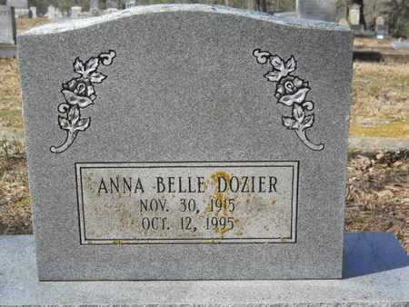 DOZIER, ANNA BELLE - Union County, Louisiana | ANNA BELLE DOZIER - Louisiana Gravestone Photos