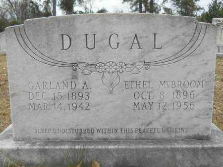 MCBROOM DUGAL, ETHEL - Union County, Louisiana | ETHEL MCBROOM DUGAL - Louisiana Gravestone Photos