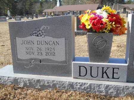 DUKE, JOHN DUNCAN - Union County, Louisiana | JOHN DUNCAN DUKE - Louisiana Gravestone Photos