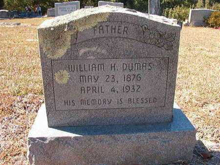 DUMAS, WILLIAM H - Union County, Louisiana | WILLIAM H DUMAS - Louisiana Gravestone Photos