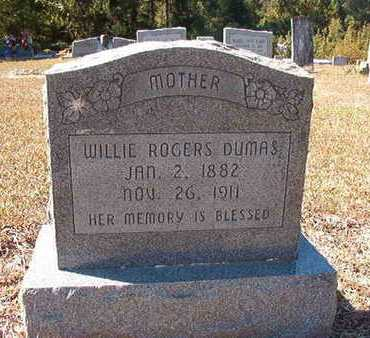 DUMAS, WILLIE - Union County, Louisiana | WILLIE DUMAS - Louisiana Gravestone Photos