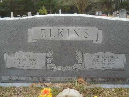 ELKINS, ALICE - Union County, Louisiana | ALICE ELKINS - Louisiana Gravestone Photos