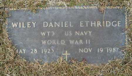 ETHRIDGE, WILEY DANIEL (VETERAN WWII) - Union County, Louisiana | WILEY DANIEL (VETERAN WWII) ETHRIDGE - Louisiana Gravestone Photos