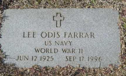 FARRAR, LEE ODIS (VETERAN WWII) - Union County, Louisiana | LEE ODIS (VETERAN WWII) FARRAR - Louisiana Gravestone Photos