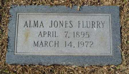 JONES FLURRY, ALMA - Union County, Louisiana | ALMA JONES FLURRY - Louisiana Gravestone Photos