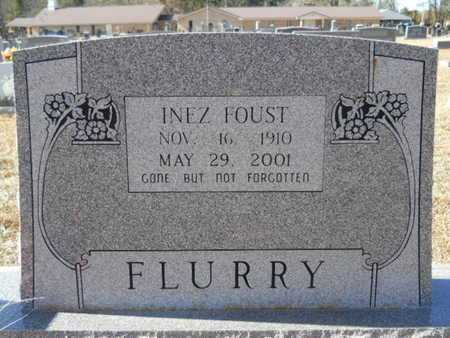 FLURRY, INEZ - Union County, Louisiana | INEZ FLURRY - Louisiana Gravestone Photos