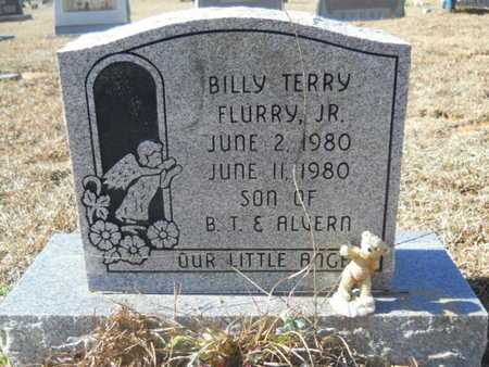 FLURRY, BILLY TERRY, JR - Union County, Louisiana   BILLY TERRY, JR FLURRY - Louisiana Gravestone Photos