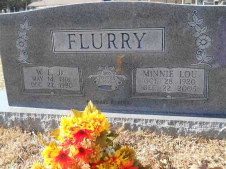 FLURRY, MINNIE LOU - Union County, Louisiana | MINNIE LOU FLURRY - Louisiana Gravestone Photos