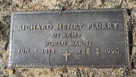 FLURRY, RICHARD HENRY (VETERAN WWII) - Union County, Louisiana | RICHARD HENRY (VETERAN WWII) FLURRY - Louisiana Gravestone Photos