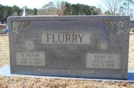 FLURRY, W FRANK - Union County, Louisiana | W FRANK FLURRY - Louisiana Gravestone Photos