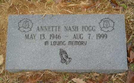 FOGG, ANNETTE - Union County, Louisiana | ANNETTE FOGG - Louisiana Gravestone Photos