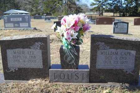 FOUST, MARIE - Union County, Louisiana | MARIE FOUST - Louisiana Gravestone Photos