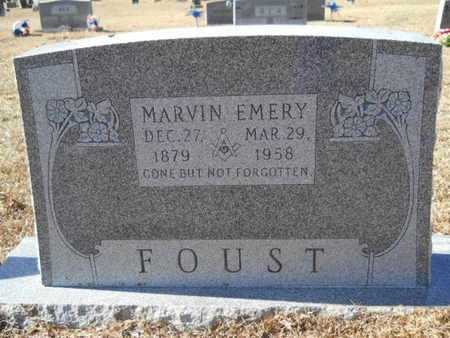 FOUST, MARVIN EMERY - Union County, Louisiana | MARVIN EMERY FOUST - Louisiana Gravestone Photos