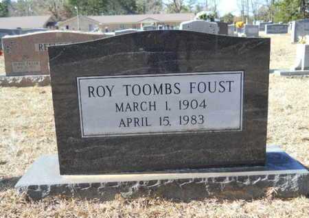 FOUST, ROY TOOMBS - Union County, Louisiana | ROY TOOMBS FOUST - Louisiana Gravestone Photos