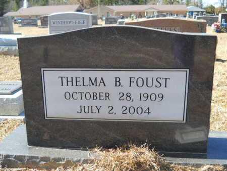 FOUST, THELMA B - Union County, Louisiana | THELMA B FOUST - Louisiana Gravestone Photos