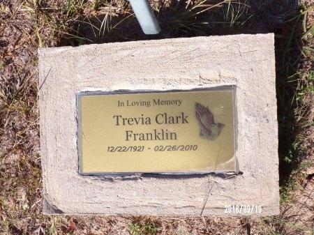 FRANKLIN, TREVIA - Union County, Louisiana   TREVIA FRANKLIN - Louisiana Gravestone Photos