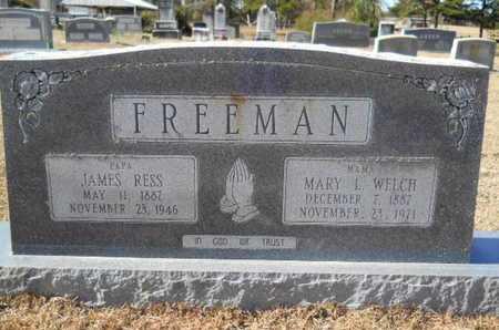 WELCH FREEMAN, MARY L - Union County, Louisiana | MARY L WELCH FREEMAN - Louisiana Gravestone Photos