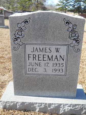 FREEMAN, JAMES W - Union County, Louisiana | JAMES W FREEMAN - Louisiana Gravestone Photos