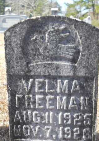 FREEMAN, VELMA - Union County, Louisiana | VELMA FREEMAN - Louisiana Gravestone Photos
