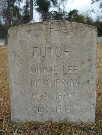 FUTCH, MINNIE LEE - Union County, Louisiana | MINNIE LEE FUTCH - Louisiana Gravestone Photos