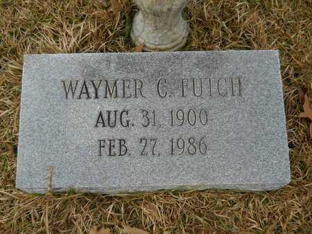 FUTCH, WAYMER C - Union County, Louisiana   WAYMER C FUTCH - Louisiana Gravestone Photos