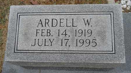 GAFFORD, ARDELL W (CLOSE UP) - Union County, Louisiana | ARDELL W (CLOSE UP) GAFFORD - Louisiana Gravestone Photos