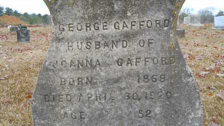 GAFFORD, GEORGE (CLOSE UP) - Union County, Louisiana | GEORGE (CLOSE UP) GAFFORD - Louisiana Gravestone Photos