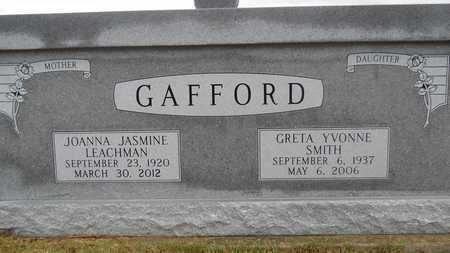 GAFFORD, JOANNA JASMINE (CLOSE UP) - Union County, Louisiana | JOANNA JASMINE (CLOSE UP) GAFFORD - Louisiana Gravestone Photos