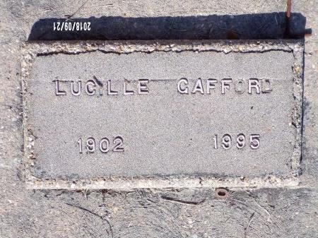 GAFFORD, LUCILLE - Union County, Louisiana | LUCILLE GAFFORD - Louisiana Gravestone Photos