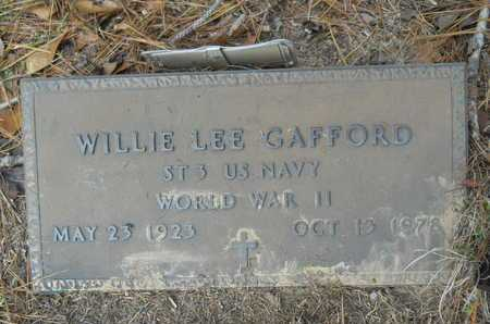 GAFFORD, WILLIE LEE (VETERAN WWII) - Union County, Louisiana | WILLIE LEE (VETERAN WWII) GAFFORD - Louisiana Gravestone Photos