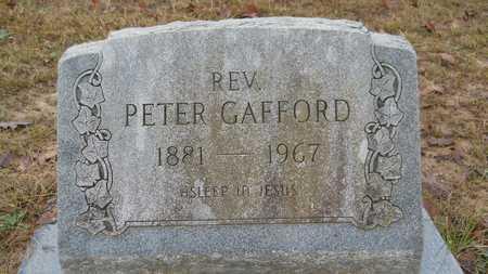 GAFFORD , PETER, REV - Union County, Louisiana | PETER, REV GAFFORD  - Louisiana Gravestone Photos