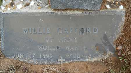 GAFFORD, WILLIE  (VETERAN WWII) - Union County, Louisiana | WILLIE  (VETERAN WWII) GAFFORD - Louisiana Gravestone Photos