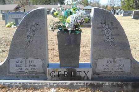 GERETY, ADDIE LEE - Union County, Louisiana | ADDIE LEE GERETY - Louisiana Gravestone Photos