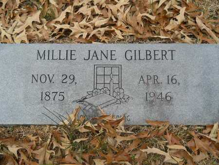 GILBERT, MILLIE JANE - Union County, Louisiana | MILLIE JANE GILBERT - Louisiana Gravestone Photos