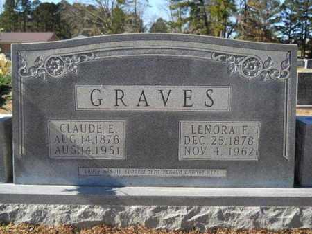 GRAVES, CLAUDE E - Union County, Louisiana | CLAUDE E GRAVES - Louisiana Gravestone Photos