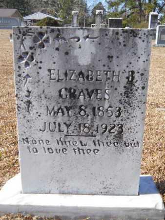GRAVES, ELIZABETH B - Union County, Louisiana | ELIZABETH B GRAVES - Louisiana Gravestone Photos