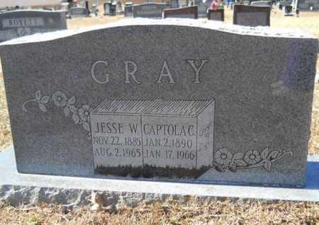GRAY, CAPITOLA - Union County, Louisiana | CAPITOLA GRAY - Louisiana Gravestone Photos