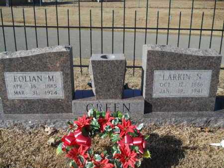 GREEN, LARKIN N - Union County, Louisiana | LARKIN N GREEN - Louisiana Gravestone Photos