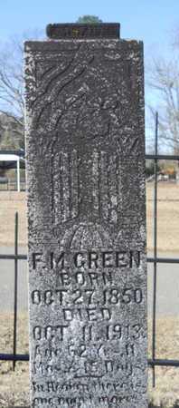 GREEN, F M - Union County, Louisiana | F M GREEN - Louisiana Gravestone Photos